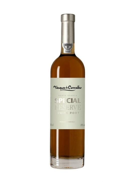 A Bottle of Vasques de Carvalho Special Reserve White