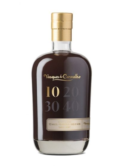 A Bottle of Vasques de Carvalho 10 Years Tawny