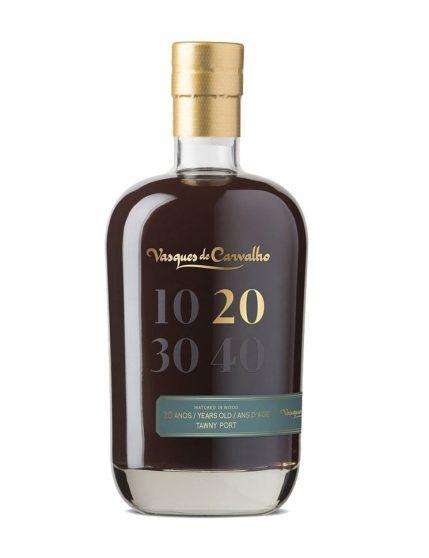 Une bouteille de Vasques de Carvalho Tawny 20 Ans