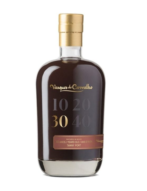 A Bottle of Vasques de Carvalho 30 Years Tawny