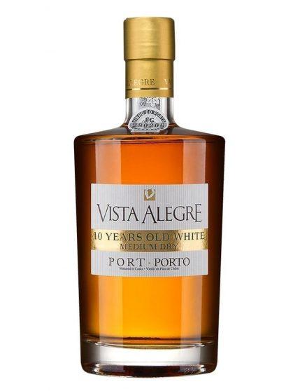 A Bottle of Vista Alegre 10 Years White Medium Dry