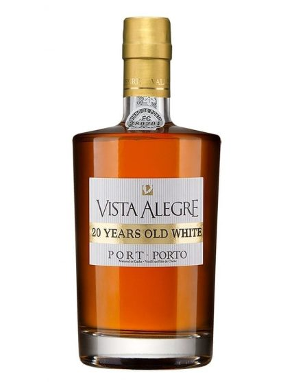A Bottle of Vista Alegre 20 Years White