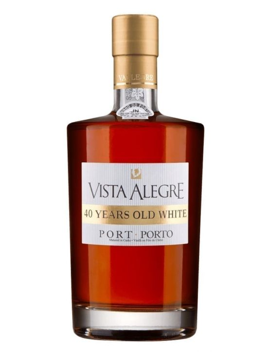 A Bottle of Vista Alegre 40 Years Old White