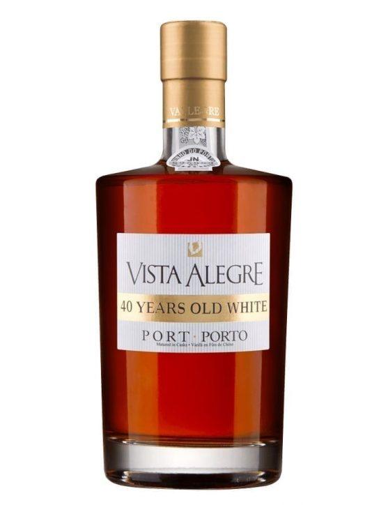 Eine Flasche Vista Alegre 40 Jahre Old Weiß