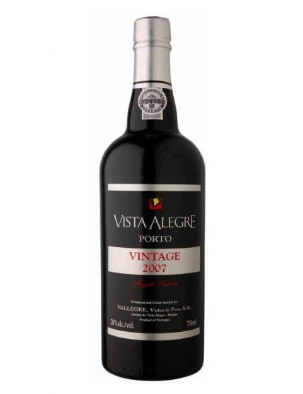 Une bouteille de Vista Alegre Vintage 2007 Magnum