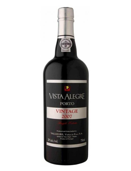 Eine Flasche Vista Alegre Vintage 2007 Magnum