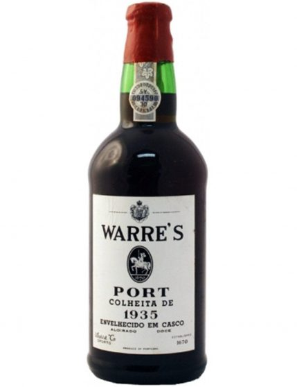 A Bottle of Warre's Harvest 1935