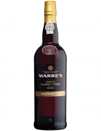 Une bouteille de Warre's King's Tawny