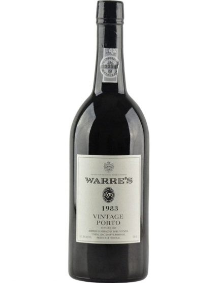 A Bottle of Warre's Vintage 1983