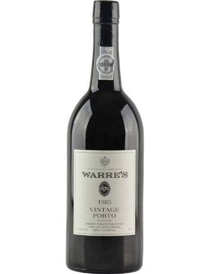 A Bottle of Warre's Vintage 1985