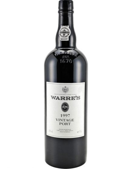 A Bottle of Warre's Vintage 1997 Port Wine