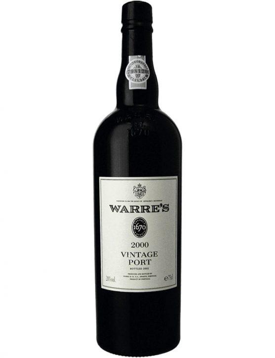 A Bottle of Warre's Vintage 2000 Port Wine