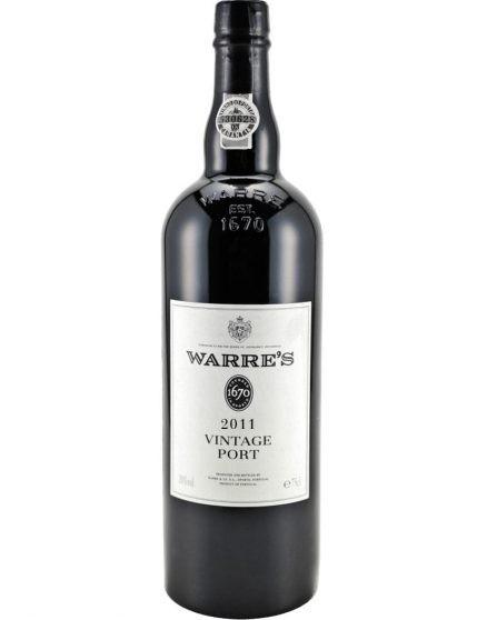 A Bottle of Warre's Vintage 2011