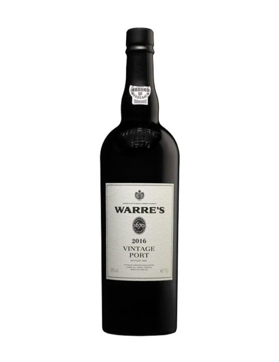 A Bottle of Warre's Vintage 2016 Port Wine