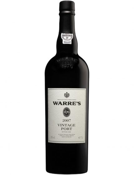 A Bottle of Warre's Vintage Double Magnum 2007