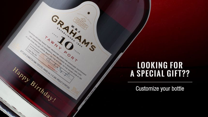 Special Gift - Engrave your Port Wine Bottle