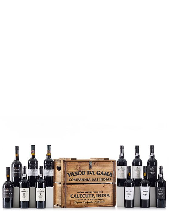 Vasco da Gama Chest Collection (12 bottles)