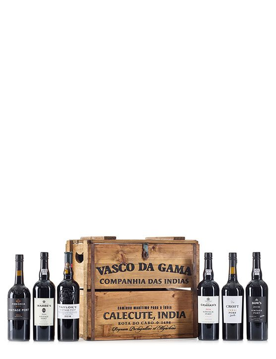 Vasco da Gama Chest Colletion (6 bottles)