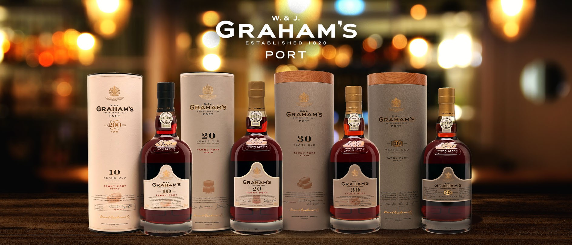 Graham's Vintage Port Wines
