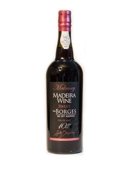 H M Borges 10 Years Malmsey Madeira