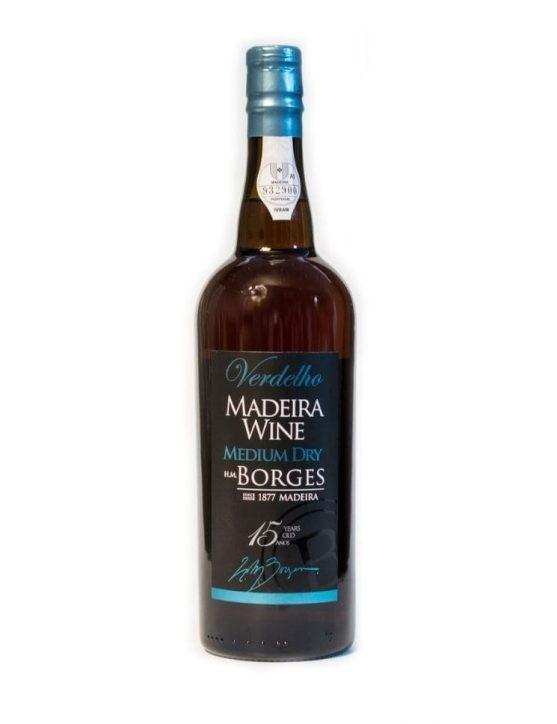 H M Borges 15 Years Verdelho Madeira
