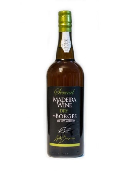 H M Borges 15 Years Sercial Madeira