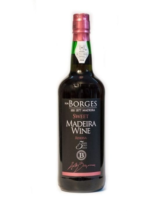 H M Borges Reserve Sweet 5 Years Madeira