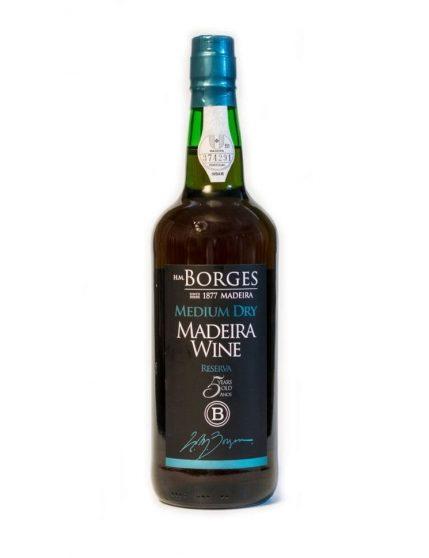 H M Borges Reserve Medium Dry 5 Years Madeira