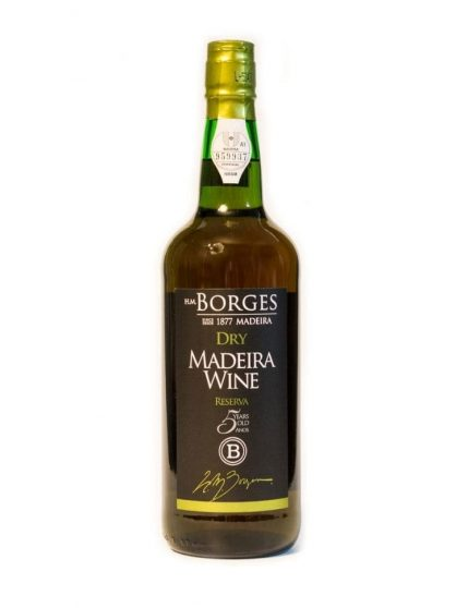 H M Borges Reserve Dry 5 Years Madeira
